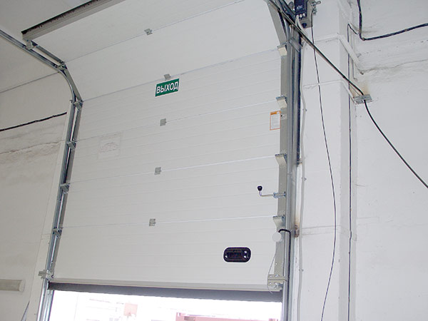Installation thermique hublot porte de garage brico depot pt for Porte garage sectionnelle brico depot
